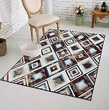Mode Luxus Teppich Moderne Moderne Bereich Teppich Dick Weich für Wohnzimmer Schlafzimmer , 2 , 50*80cm