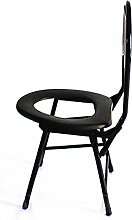 Mode praktisch Klappstuhl / ältere Stuhl / Mutterschaft Hocker / Hocker / dicken Hocker / Rücken Hocker (32 * 26 * 68cm) (Farbe wahlweise freigestellt)
