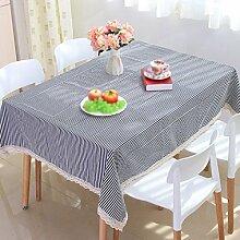 Mode schwarz und weiß gestreifte Spitze Tischdecken, Tuch, Tischdecken, Tisch Tischdecken , #1 , 30*40cm