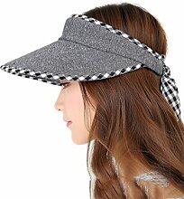 Mode Sonnenhut Baumwolle und Leinen Leere Hut
