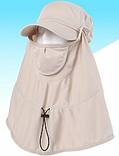 Mode Sonnenhut Decken Sie den Nackenschutz gegen UV Sun Hut Damen Sommer Outdoor Sonnenuntergang Sonnenschutz Hut Modische Cap Gute Qualität A +++ ( Farbe : 2 )