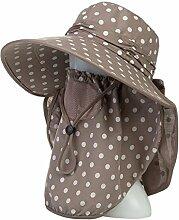 Mode Sonnenhut Elektrisches Auto Sonnenschutz Damen Freizeit Wild Cover Gesicht Schutz Sonnenschutz UV Hut Gute Qualität A +++ ( Farbe : 4 )