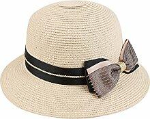 Mode Sonnenhut Sommer Sonnenschutz Sonnenhut Faltbarer Strand Sonnenhut Outdoor Urlaub Eaves Strohhut Gute Qualität A +++ ( Farbe : 1 )