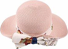 Mode Sonnenhut Sommer-Strand-Kappe Sonnenhut im Freien Sonnenschutz-Fliege Großer Dach-Strand-Sun-Hut Gute Qualität A +++ ( Farbe : 3 )