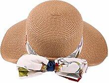 Mode Sonnenhut Sommer-Strand-Kappe Sonnenhut im Freien Sonnenschutz-Fliege Großer Dach-Strand-Sun-Hut Gute Qualität A +++ ( Farbe : 5 )