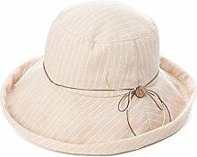Mode Sonnenhut Weibliche Gezeiten-Sommer-Sonne-Hut-faltbarer Sonnenschutz-Damen-im Freien Strand-Hut Gute Qualität A +++ ( Farbe : 1 )