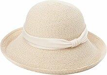 Mode Sonnenhut Weibliche Sommer-Gezeiten-Sonne-Hut Faltbare Strand-Kappe Anti-ultraviolettes großes entlang dem Sun-Hut Wirksamer Sonnenschutz ( Farbe : 2 )