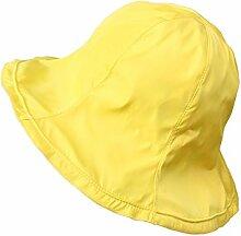 Mode Sonnenhut Weiblicher Sommer Sonnenschutz Sonnenschutz Sonnenschutz Sonnenhut Faltbare Big Eaves Beach Cap Beide Seiten können einen Sun Hut tragen Gute Qualität A +++ ( Farbe : 6 )