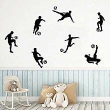 Mode Sport Wandaufkleber Junge Fußball Aufkleber