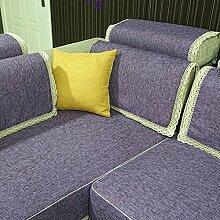 Mode Stoff Sofa Handtuch/ Slip Sofa Handtuch-E 70x140cm(28x55inch)