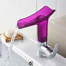 Mode Swivel Badezimmer Waschbecken Weinglas-Form