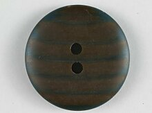 Modeknopf, 23mm, braun, zweiloch