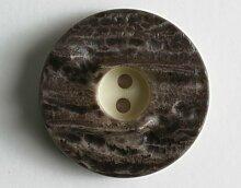 Modeknopf - Größe: 15mm - Farbe: braun