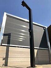 Model A1 Black Solardusche Gartendusche Pooldusche
