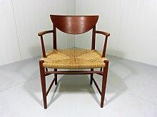 Modell 317 Armlehnstuhl von Peter Hvidt & Orla