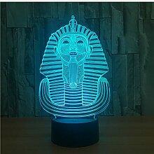 Modell 3D Lampe LED Acryl Nachtlicht mit 7 Farben