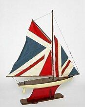 Modellschiff Schiff Segelboot Modell Boot Holz