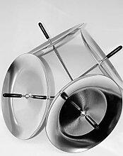 Modern 20 Stück Silber Adventskranz kerzenhalter