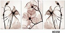 Modern 3 Pieces Wall Canvas Painting Home