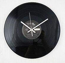 Modern/antik Retro Vinyl CD-Tabelle Wanduhr , 2
