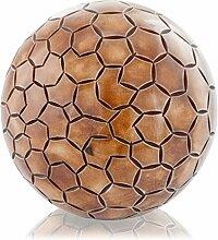 Modern Day Accents 5055 Pentagono-Holzkugel aus