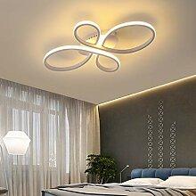Modern Dimmbar LED Deckenleuchte Blume Ringe