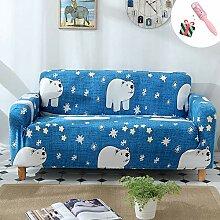Modern Elastisch Sofa Überwürfe Sofabezug 1 2 3
