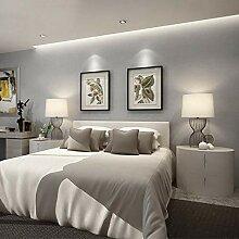 Modern grau 3D Tapete Vliesstoff Schlafzimmer