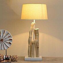 Modern, Holz, Tischleuchte, Schlafzimmer, Bett, Tisch Lampe, Wohnzimmer, Dekoration, Lampe