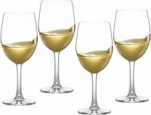 Modern House weiß Weinglas, Transparent, 6Stück