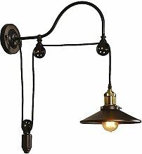 Modern Industrielle Metall Retro Antik Wandlampe