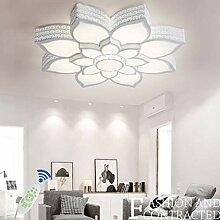 Modern LED Deckenleuchte Dimmbar Wohnzimmer
