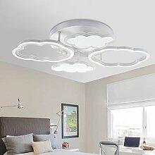 Modern LED Deckenleuchte Kreative Wolken