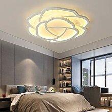 Modern LED Deckenleuchte Rose Design Deckenlampe