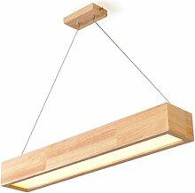 Modern LED Esstisch Pendelleuchte Pendellampe Holz