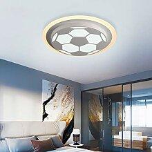 Modern LED Fußball Deckenleuchte Kreative