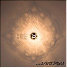 Modern LED Wandleuchte Huanglian Wandlampe