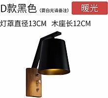 Modern LED Wandleuchte Log wandleuchte