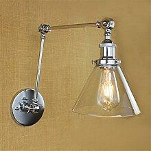 Modern LED Wandleuchte Vintage pastoralen Glas