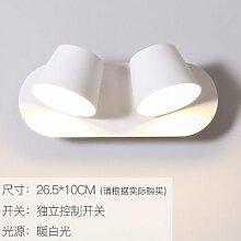 Modern LED Wandleuchte Wandlampe nachtschlafzimmer