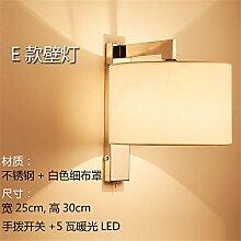 Modern LED Wandleuchte Wandlampe nachttischlampe