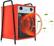 Modern life Heizlüfter Elektroheizung Elektroheizer Bauheizer Heißluftgenerator (max. 15 kW, 3 Heizstufen, stufenloses Thermostat, Standgerät, Tragegriff )