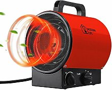 Modern life Heizlüfter Elektroheizung Heißluftgenerator Industrial Fan Heater (max. 3 kW, stufenloses Thermostat, Standgerät, Tragegriff ) Ro