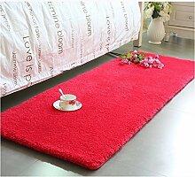 Modern Minimalist Couchtisch Teppich, im europäischen Stil Full-Shop Wohnzimmer / Schlafzimmer / Bettwäsche Decke / Bay Window Pad Dicker Fuß Pad Fenster Matratze ( farbe : # 2 , größe : 70cm*180cm )