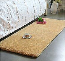 Modern Minimalist Couchtisch Teppich, im europäischen Stil Full-Shop Wohnzimmer / Schlafzimmer / Bettwäsche Decke / Bay Window Pad Dicker Fuß Pad Fenster Matratze ( farbe : #1 , größe : 80cm*200cm )