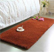 Modern Minimalist Couchtisch Teppich, im europäischen Stil Full-Shop Wohnzimmer / Schlafzimmer / Bettwäsche Decke / Bay Window Pad Dicker Fuß Pad Fenster Matratze ( farbe : # 5 , größe : 70cm*160cm )