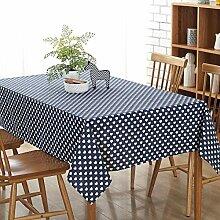 Modern Minimalist Love Cotton Linen Tischdecke
