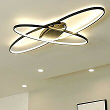 Modern Oval LED Deckenleuchte Deckenlampe