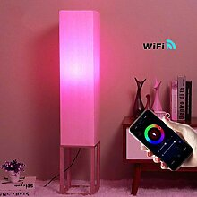 Modern Smart Stehlampe, RGB LED Deckenfluter Wifi