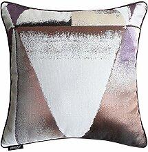 Modern Sofa Pillow Cushion,Geometric Jacquard Living Room Pillow-B 55x55cm(22x22inch)VersionB